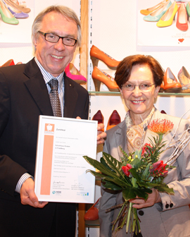 Schuhhaus Kratzer Verleihung